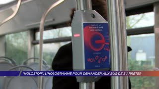 Yvelines | «Holostop», l'hologramme pour demander aux bus de s'arrêter