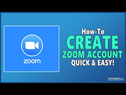 How To Create A Free Zoom Account - Quick & Easy!