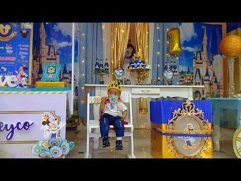 Decoracion Mickey Principe Grafideco Mh Youtube