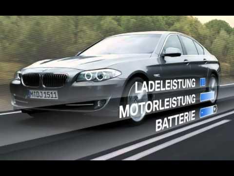 BMW 5 series 2010 brake energy regeneration