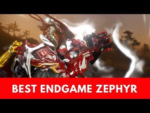 Warframe: Best Endgame Zephyr Build