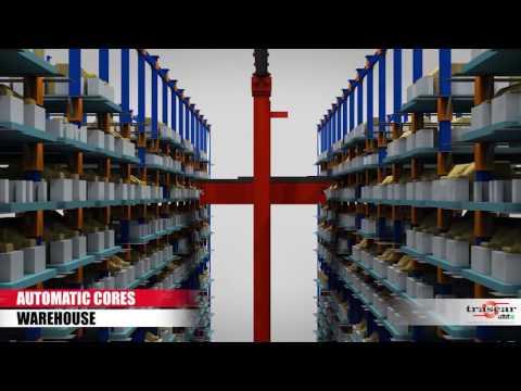 Автоматические краны-штабелеры в металлургии