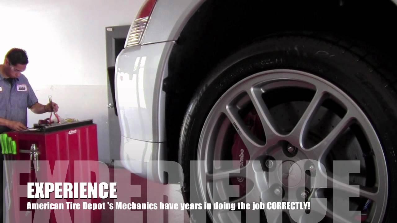 American Tire Depot Modesto Super Center Youtube