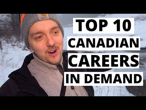 Top 10 Canadian Careers In Demand In 2020!