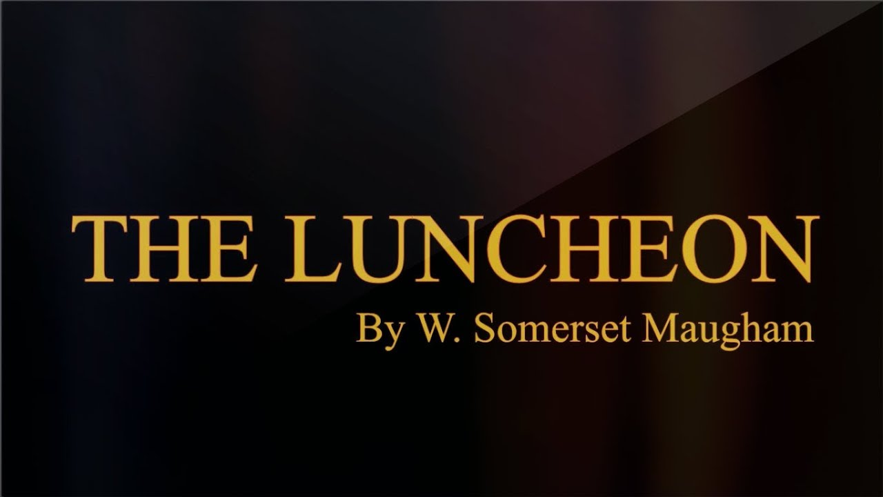 the luncheon maugham
