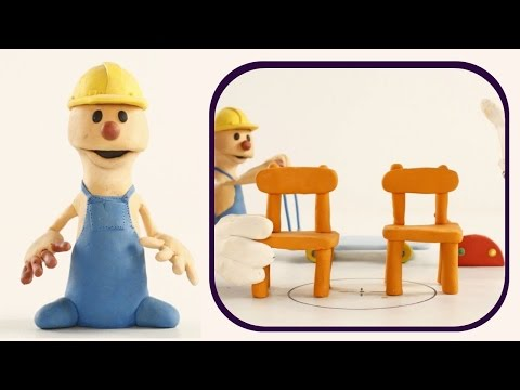 Chair | PLAY To CLAY with JAMES | Muffin Songs Kindergarten