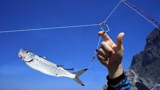 Crazy way to go fishing