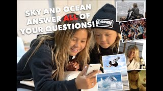 Sky Brown and Ocean - Get Your Questions ANSWERED!!!!