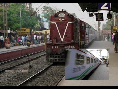 [HD] India's Frontier Railway INTERNATIONAL TRAIN : DHAKA Bangladesh - KOLKATA India MAITREE EXPRESS thumbnail