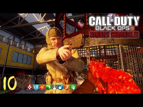 MOON EASTER EGG WITH RANDOMS.. PLS HELP - BLACK OPS 3 ZOMBIE CHRONICLES DLC 5 GAMEPLAY!