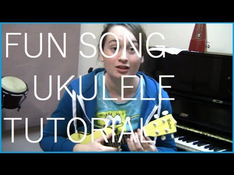 F U N  Song Spongebob Squarepants Ukulele Tutorial