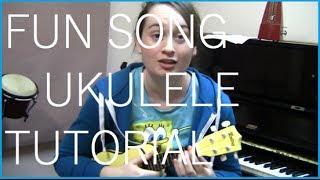 F.U.N. Song Spongebob Squarepants Ukulele Tutorial