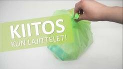 Lajittele muovipakkausten keräykseen – vinkit