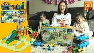 꼬마버스 타요 남산도로놀이 Tayo the little bus Road Play Toys l mimi world tayo toys