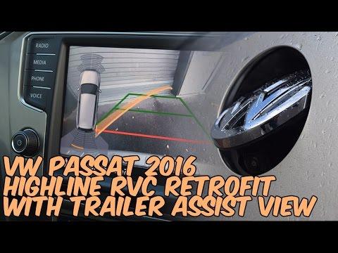 VW Passat 2016 (3C) Highline Reversing Camera Retrofit