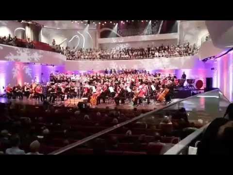 Sarah til Jule koncert med Aalborg Symphony Orchestra