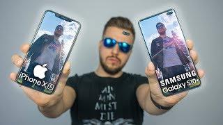 Galaxy S10+ vs iPhone Xs Max - Który lepszy? PORÓWNANIE