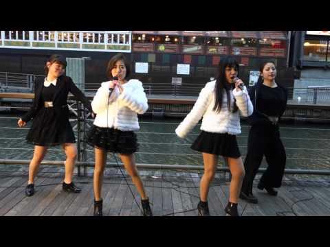 DIVABLE「REVOLUTION」(Crystal Kay feat. 安室奈美恵)、道頓堀、16.01.23