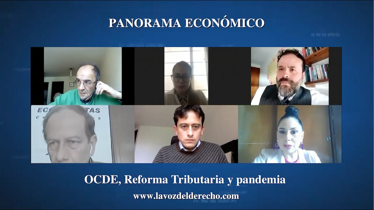 OCDE, Reforma tributaria y pandemia