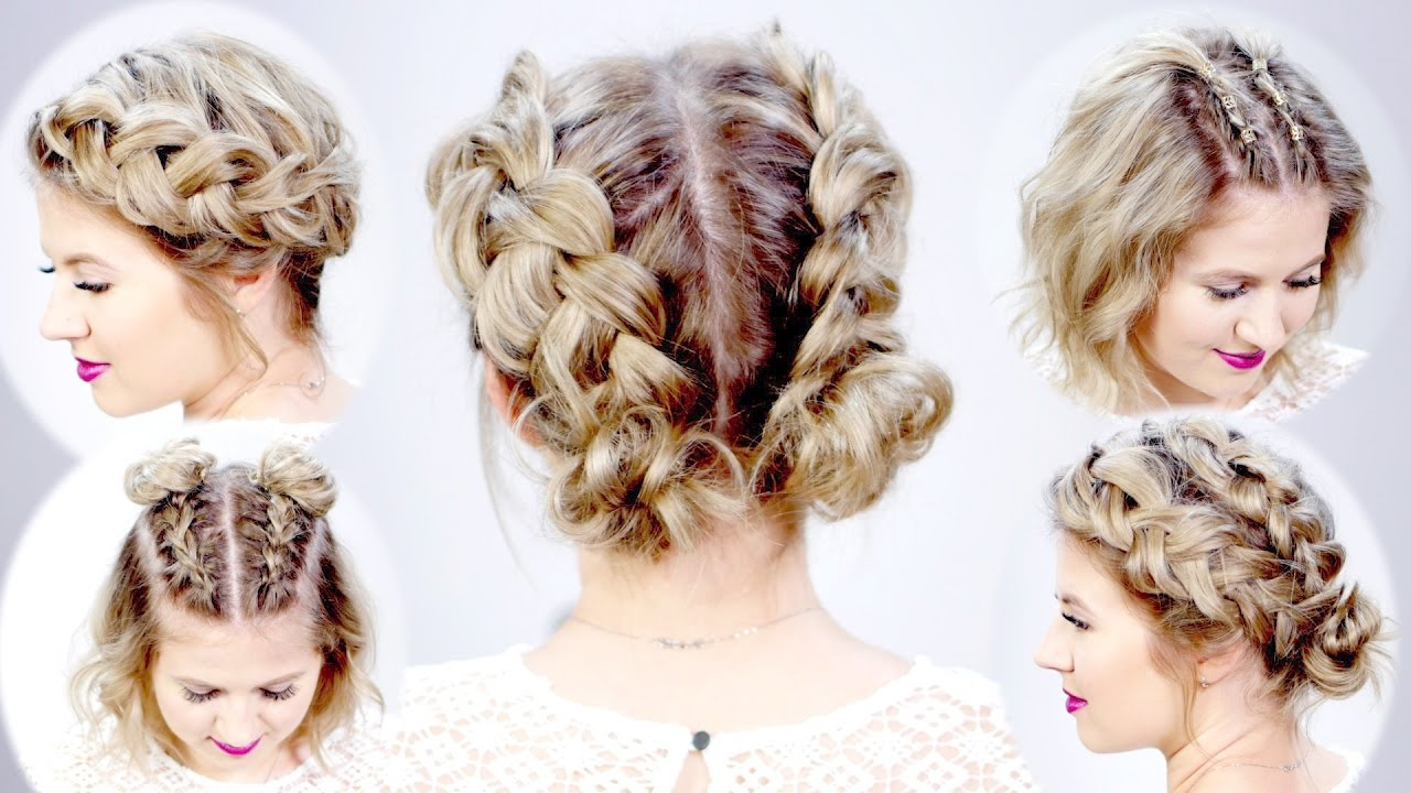 Cute Hair Styles For Medium Hair: 5 DOUBLE DUTCH BRAIDED HAIRSTYLES FOR SHORT HAIR