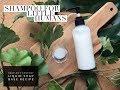 Handmade Natural Shampoo for Babies How To Make