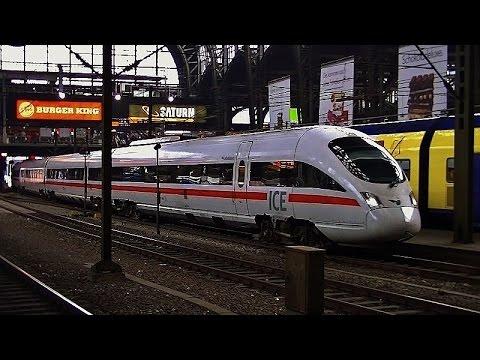 Treinen in Hamburg Hbf - 24 september 2014