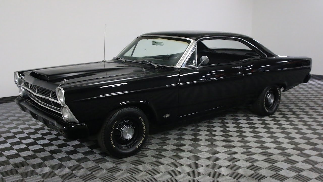 1967 ford fairlane black