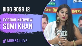 Exclusive interaction with evicted contestant Somi Khan | Bigg Boss 12 | Colors TV