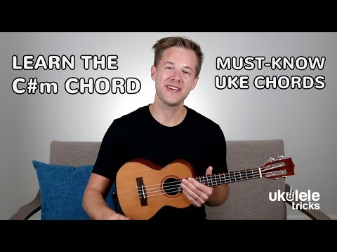 How To Play A C#m (C# Minor) Chord On #Ukulele