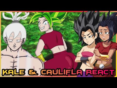 Kale and Caulifla REACT to Goku vs Jiren RAP BATTLE! Tournament of BARS! (DBS Parody)