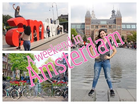 A Weekend In Amsterdam // Week 2 // CC Overseas Travel Vlog