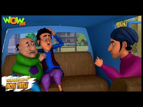Motu Patlu New Episode  Cartoons  Kids TV Shows  Jhatka Kidnapped In Modern City  Wow Kidz