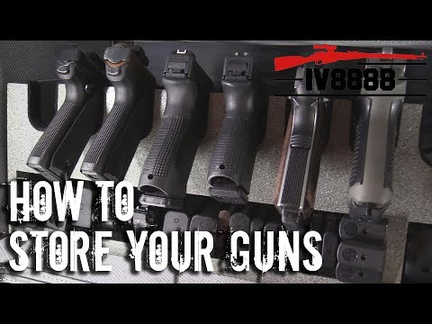 How To Store Your Guns