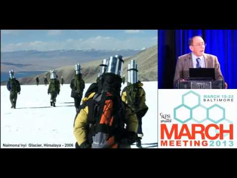 Earth's Climate History from Glaciers and Ice Cores: Prof Lonnie Thompson