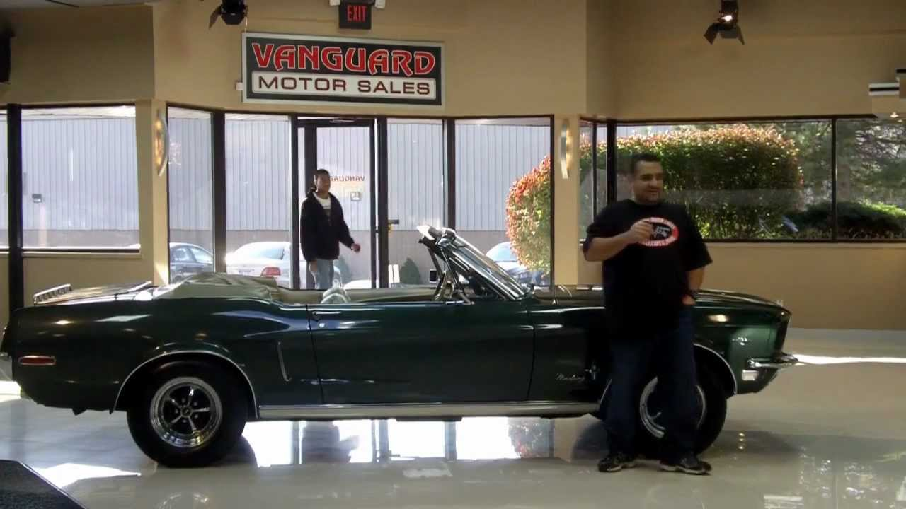 1968 Ford Mustang C Code Convertible Classic Muscle Car for Sale in ...