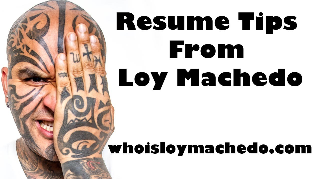51 Most Overused Words & Cliches in Resumes & CV\'s (Part 1) - Loy ...