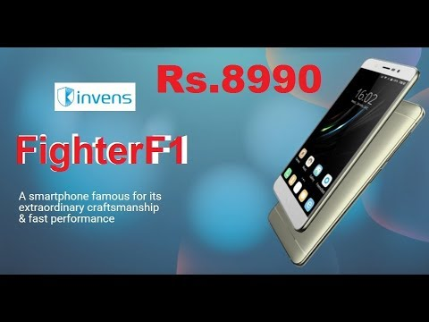 INVENS Fighter F1 4G Volte Jio Supported Smartphone @RS.8990/- 2YR WARRANTY & FIRST DAMAGE COVERED