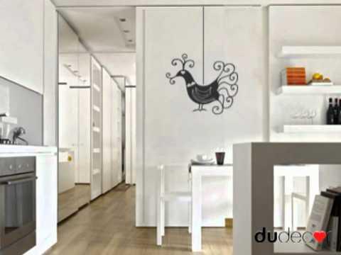Wallstickers decori adesivi per pareti dudecor youtube - Specchi adesivi per pareti ...