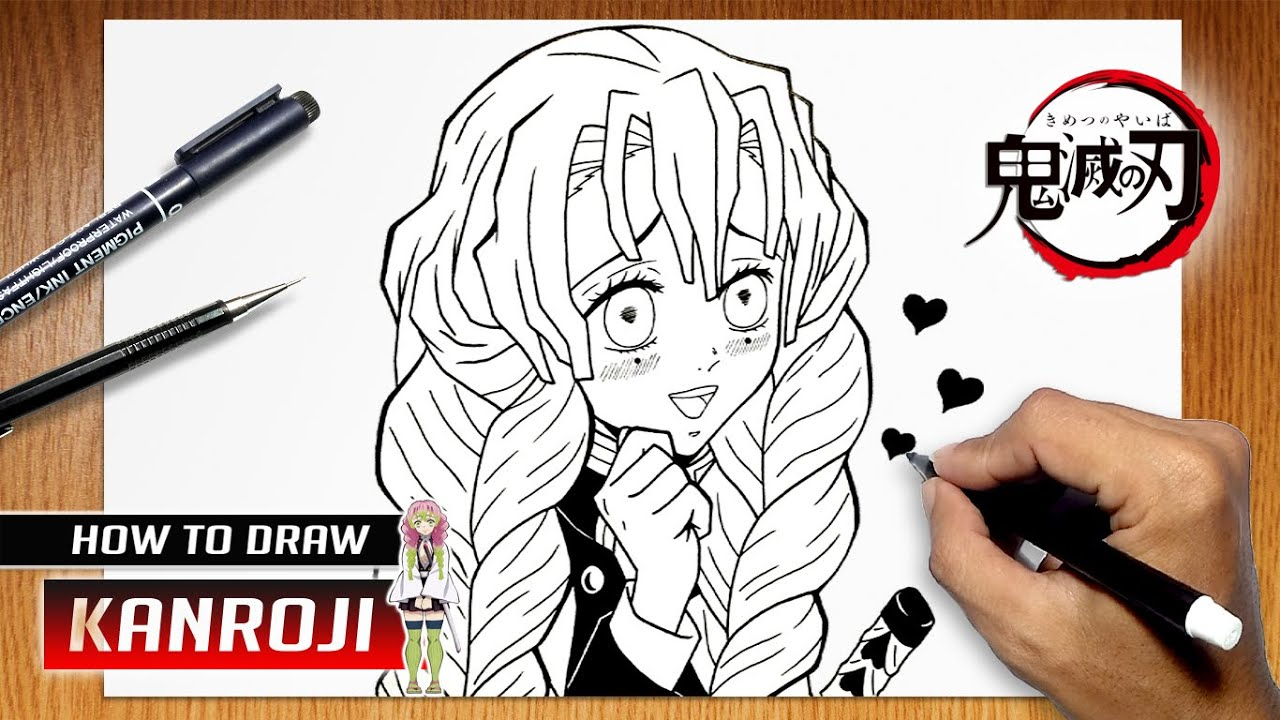 How To Draw Mitsuri Kanroji From Kimetsu No Yaiba Youtube A redraw of a beautiful drawing of mitsuri kanroji from demon slayer (love hashira) this is my 12th drawing of my 100 days challenge. how to draw mitsuri kanroji from kimetsu no yaiba