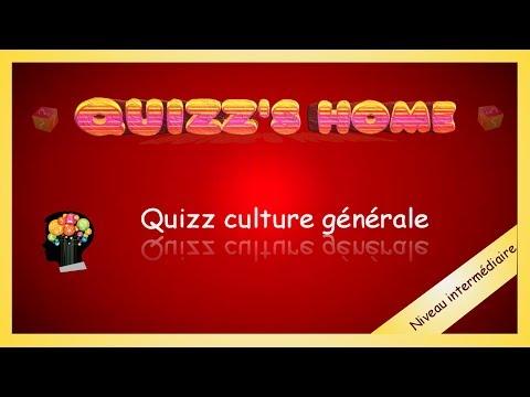 Quizz culture générale (niveau intermédiaire)