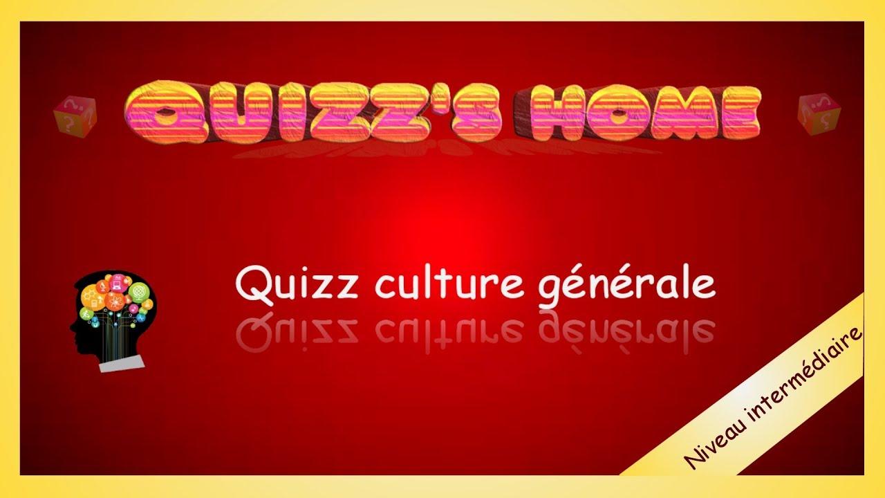 Culture générale test en ligne