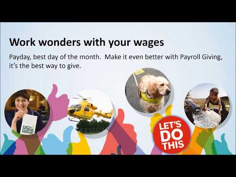 Payroll Giving explained