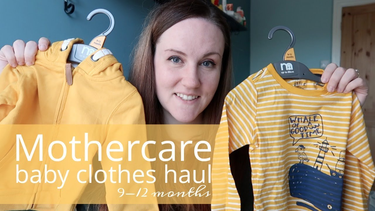 Baby Boy Clothes Haul Mothercare 9 12 Months Youtube