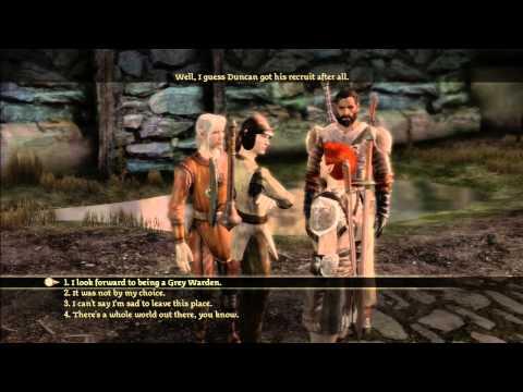 Dragon Age: Origins (Alternate Origins): Male City Elf Part 3