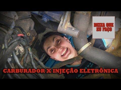 CARBURADOR VERSUS INJEÇÃO ELETRÔNICA