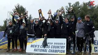 NCAA Cross Country Championships DII Awards Ceremony