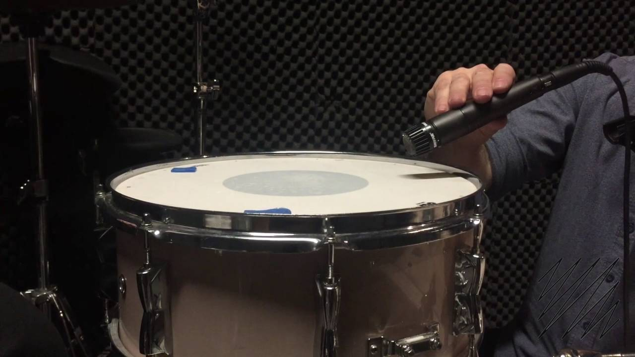 whats the best way to position a snare mic youtube. Black Bedroom Furniture Sets. Home Design Ideas