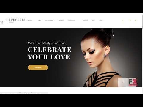 Eveprest - Jewelry PrestaShop Theme TMT Clifton Warwick