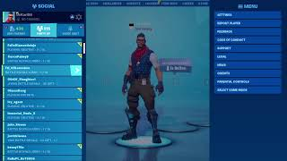 99 OVERALL RETURNS TO FORTNITE AFTER 10 MONTHS MOD GIVEAWAY AT 1.9K SUBS 1845\1900