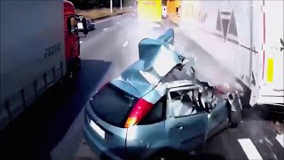 Scary car crash compilation 3. Destructive car crashes.  Viewer discretion is advised.